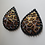 Thumbnail: Teardrop Shape Leopard Print Pasties