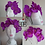 Thumbnail: Rhinestoned Orchid Crowns - Multiple Colours