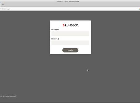 Instalación y primeros pasos de Rundeck en CentOS Linux