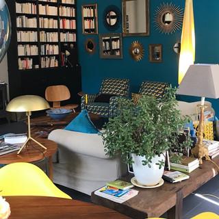 chambre d'hôtes en Bourgogne bibliothèque