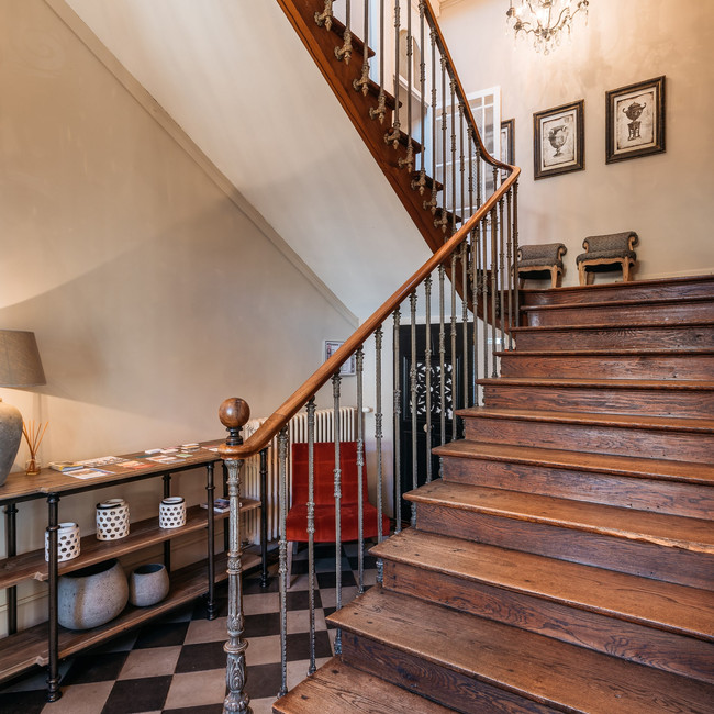 La Maison des Courtines - Entrée escalie