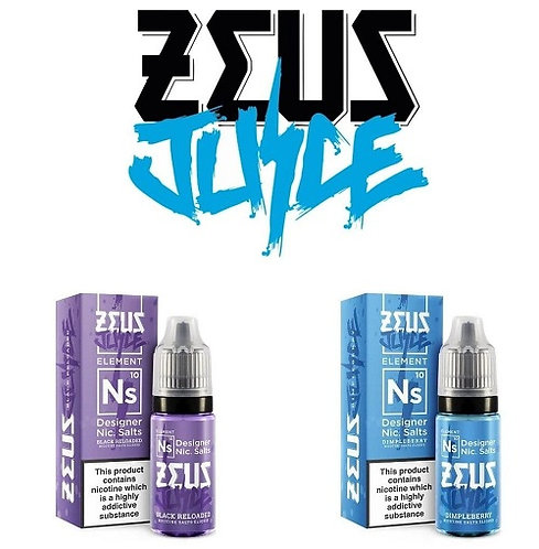 Zeus Juice Nicotine Salts 20mg