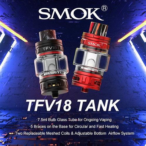 SMOK TFV18 Sub Ohm Tank with Bubble Glass