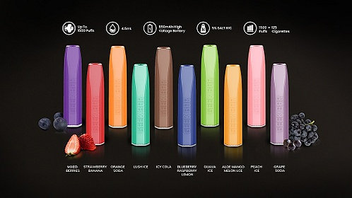 Geek Vape Geek Bar PRO Disposable 1500 puffs 4 for £32 with Free Delivery