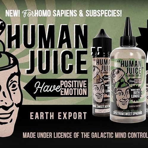 Human Juice by Joe's Juice 240ml Shortfill