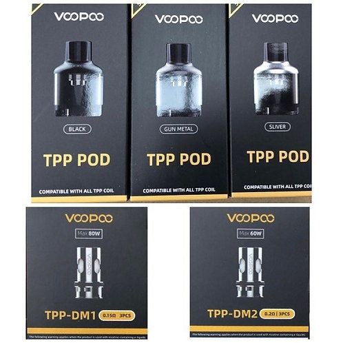 Voopoo TPP Coils and Pods