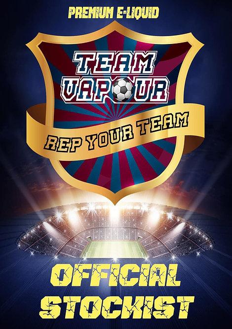 Team Vapour 120ml Shortfill