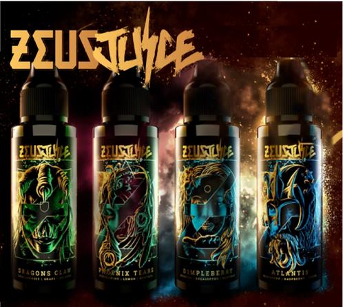 Zeus Juice 120ml Shortfill