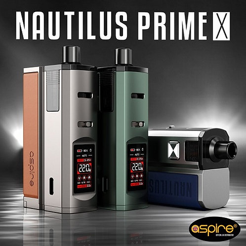 Aspire - Nautilus Prime X Kit - FREE P&P