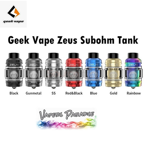 Geekvape Zeus SubOhm Tank - Bubble Glass