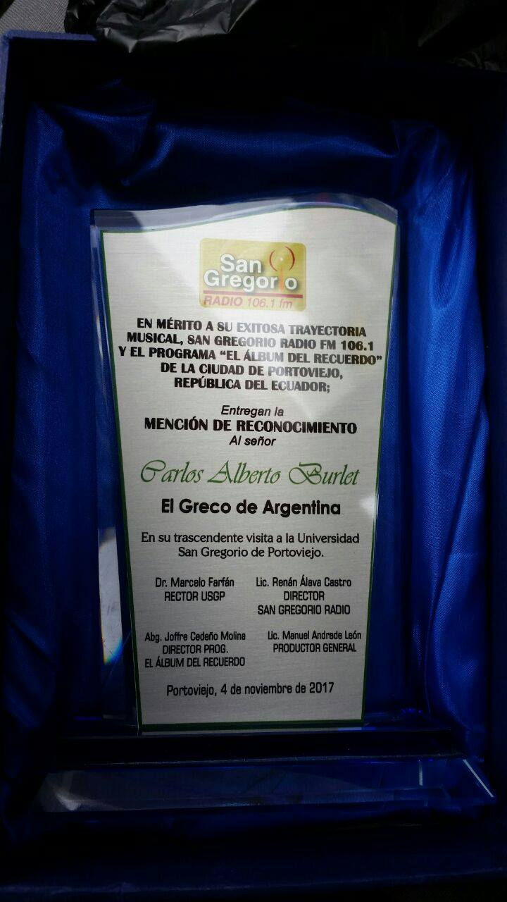 el greco university award