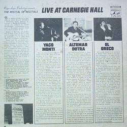 live at carnagie hall el greco