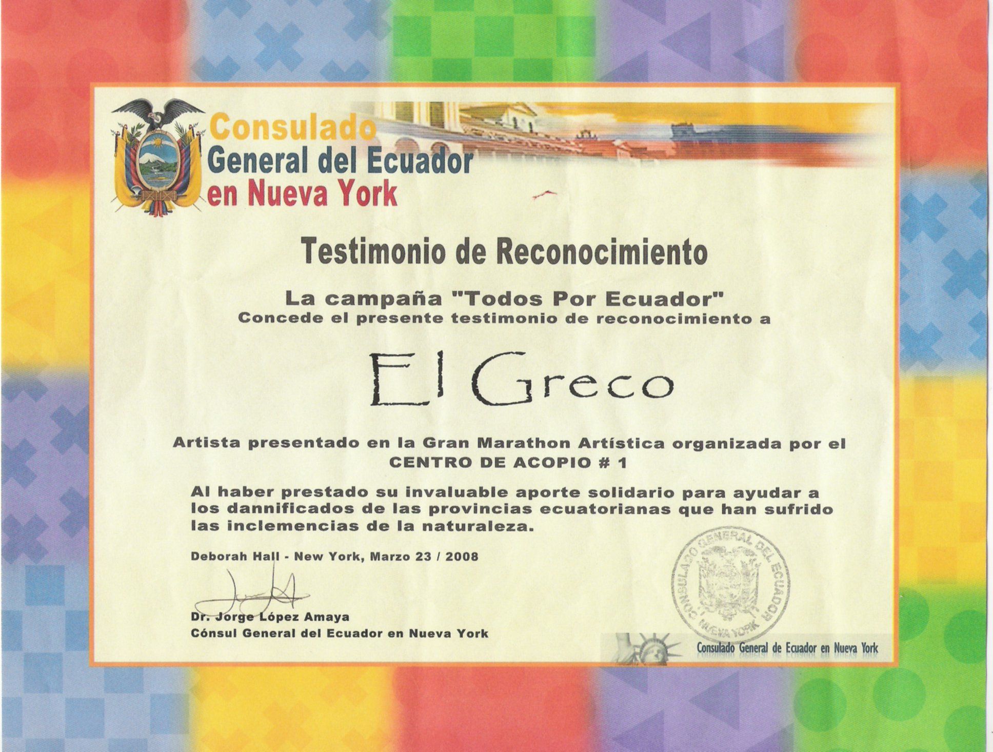 consulate of ecuador in new york usa rec