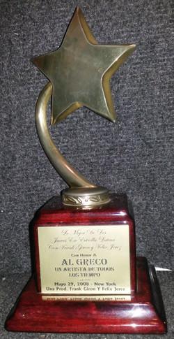 el greco celebrity of all times award