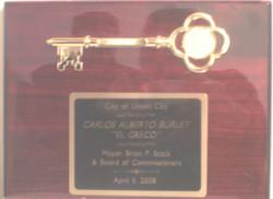 mayor award to greco