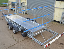 Light Weight Rowing Boat Trailer