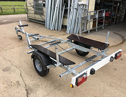 IB500 Inflatable Boat Trailer
