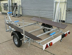 IB700 Inflatable Boat Trailer