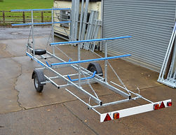 Super Light Weight Rowing Boat Trailer