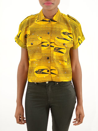 CHEMISE CROP TOP AMPLE