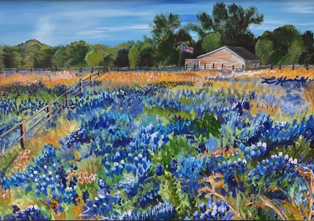Springtime in Bloom | Acrylic