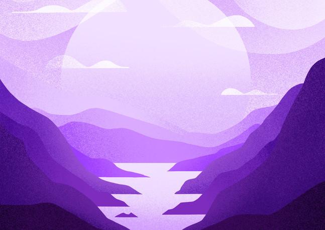 Monotone Horizon | Digital Art