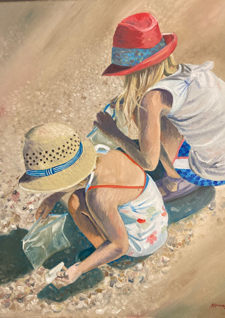 Searching for Shells | Oil