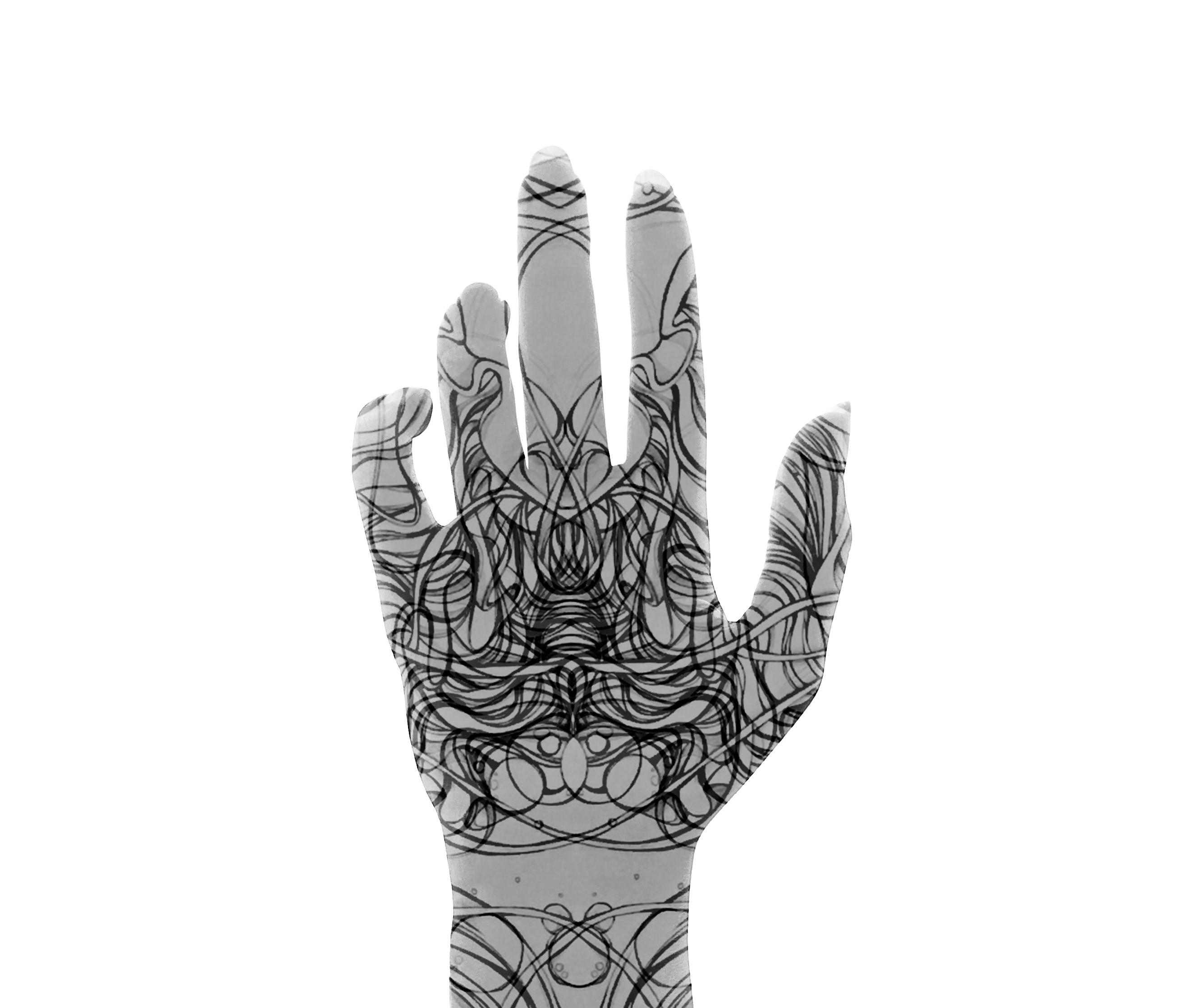 Sumaia's hand