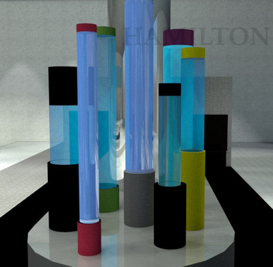 Russell Hamilton: Light / Noor Containers