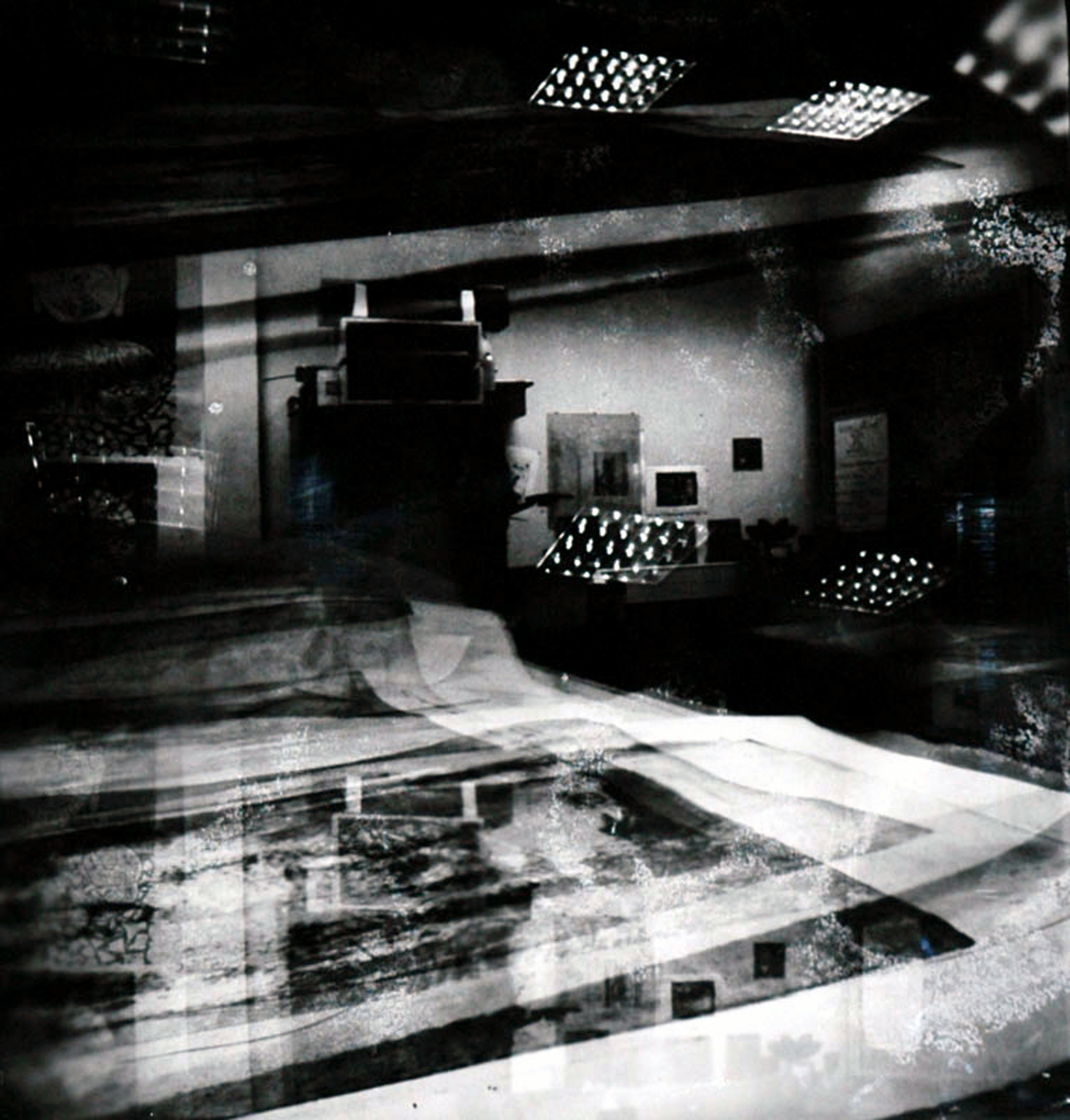Studio pin hole photo