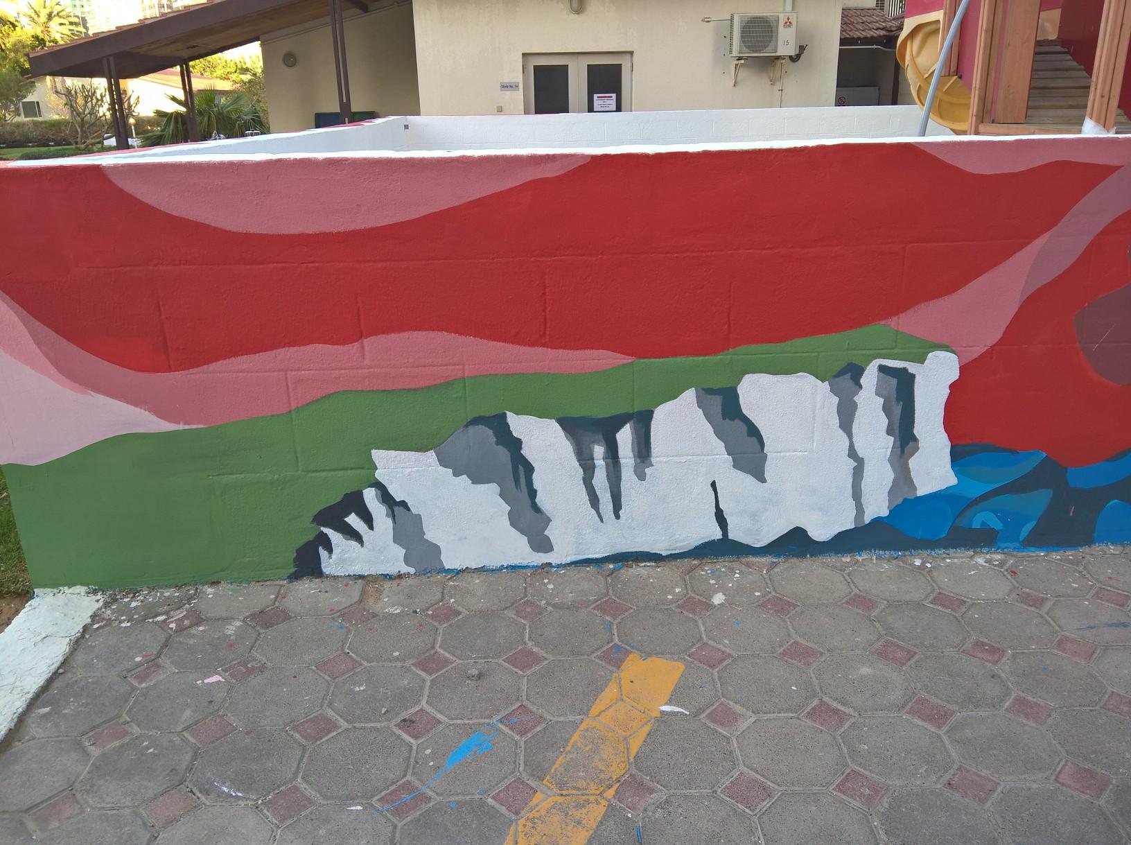 Mural British Embassy Process