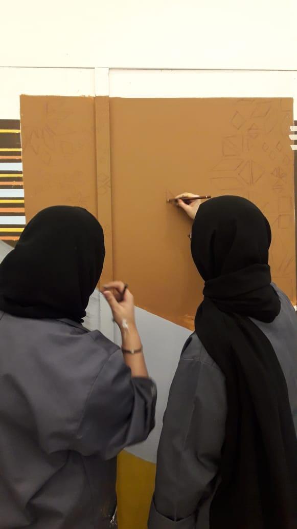 My City Centre Masdar Mural project