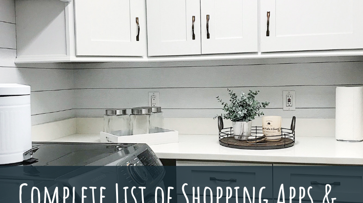 Shopping Apps & Coupons for the Budget Home Decorator
