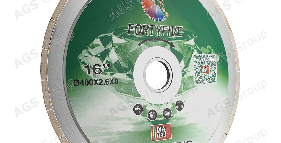"""Disco Laminam / Neolith taglio 45° """"FORTYFIVE"""" (12mm) – Diatex"""