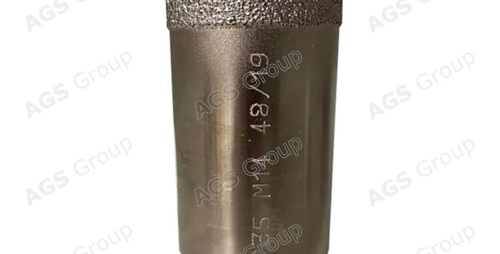 Foretto a secco elettrodepositato attacco M14