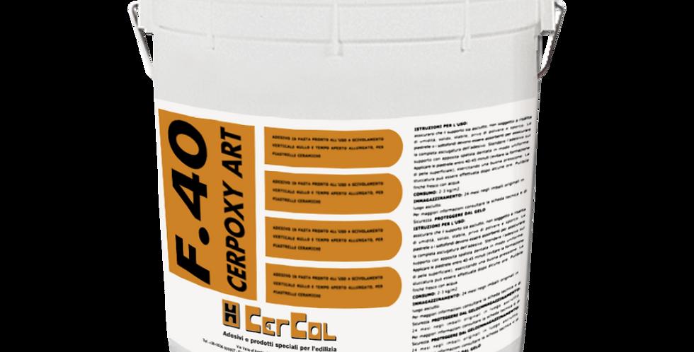 F40 Cerpoxy Art 3 kg - Cercol