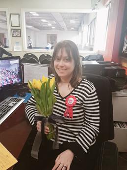 Audrey Swartz,     Office Manager