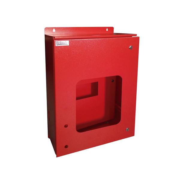 Gabinete con subpanel para incendios