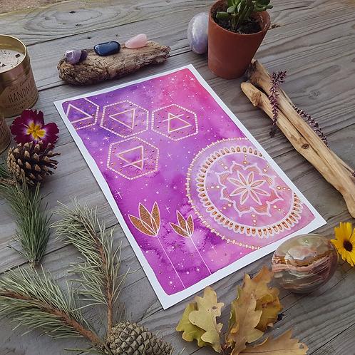 Pink Alchemy Print