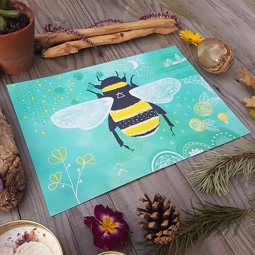Air Bee Print