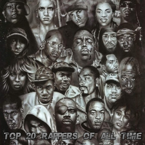 Top 25 Rappers of All Time