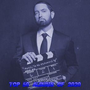 Top 50 Albums of 2020 (2020 Rankings)
