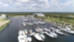 Antigua Cove Wet Slips Drone