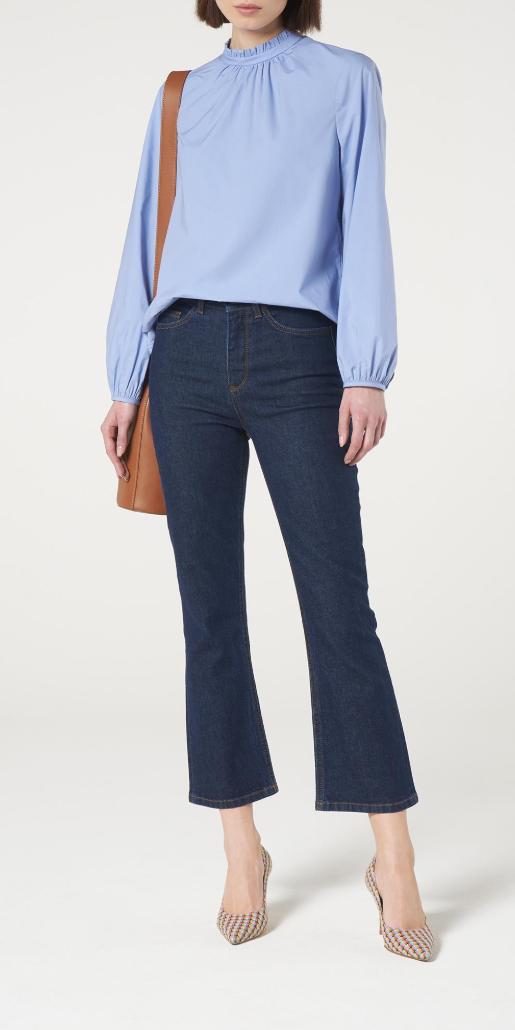 L.K. BENNETT // Devlin Kick Flare Jeans