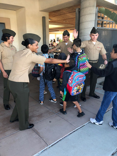 Military Partners Giving Back