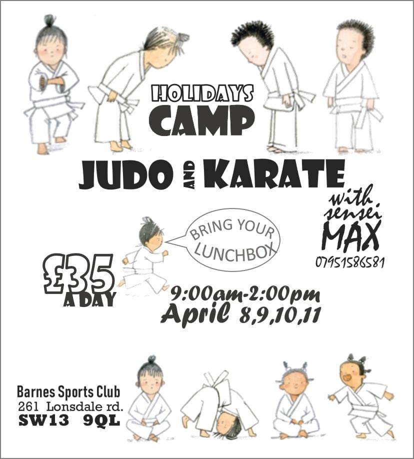 Easter Karate Camp 2019