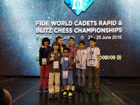 4th Place at World Chess Championships