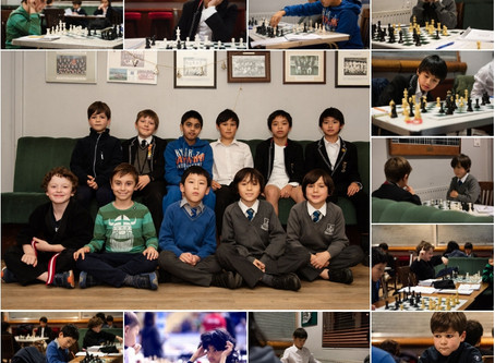15 Penguins at London Junior Chess Championship