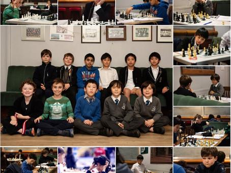 15 Penguins at London Junior Chess Championship