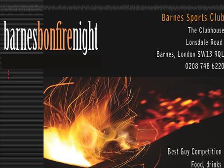 Barnes Bonfire Night 2020